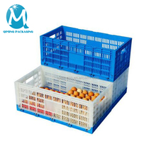 Safe Pe Plastic Containers Egg Folding Crate For Packaging