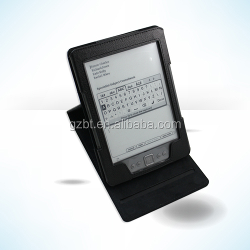 New Arrival Full protective hard case Amazon 6 inch Tablet,stylish book style case for kindle 4