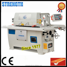 Top quality wood straight line rip saw machine with edge trimming