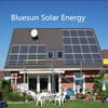 BlueSun high quality 200W pv panel solar TUV CE ISO standard mono silicon 200wp solar module for 5kw solar system