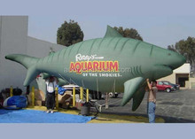 24 foot Tiger Shark for use in parade and for events/inflatable helium balloon