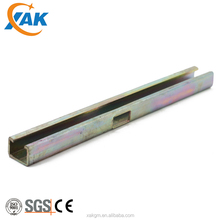 cold formed steel carbon channel with grade GB Q235B for construction material