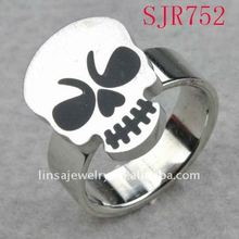 fashion skull men's stainless steel ring jewelry