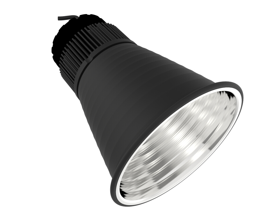 60 degree LED high bay light aluminum housing(R60-258-78-2)
