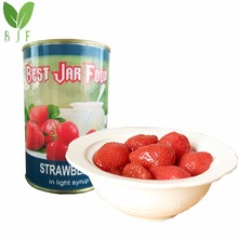 canned strawberry in syrup factory direct price