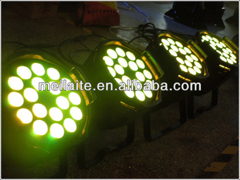 18x15w rgbaw led par light/led par 64/10w rgbwa led par light