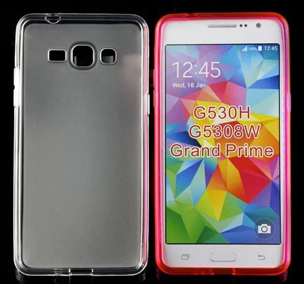 Mix colors pudding TPU Gel Cover Case for Samsung Galaxy Grand prime G530H G5308W