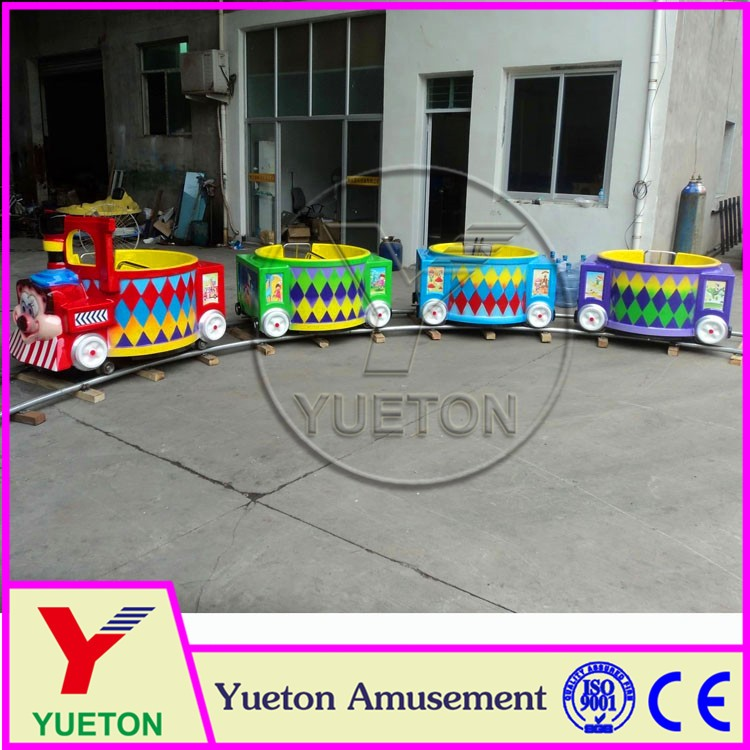 Zhengzhou Yueton Electric Equipment Used Tourist Train For Sale