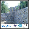 Alibaba China galvanized hexagonal gabion basket for river bank protection