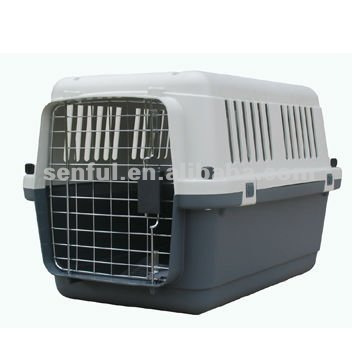 Flight Cage Plastic Dog Carrier commercial dog cage