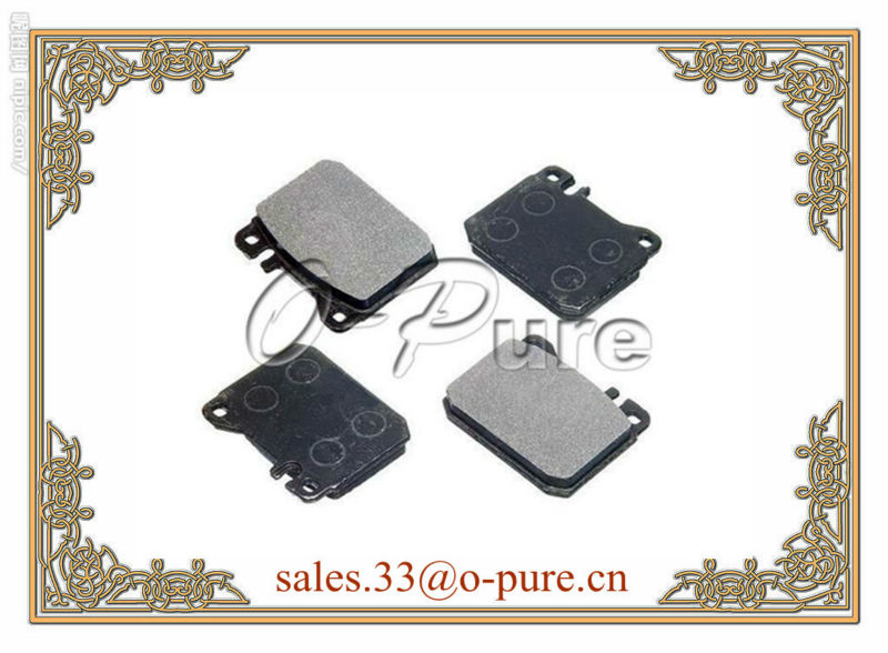 MERCEDES car parts for C123 W123 o-pure semi-metal brake pad OE 000 420 63 20 none abestos good quality best seller