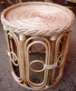 Cane Wicker Stool/seat