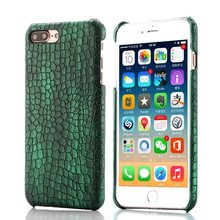 Luxury 3D Pattern Crocodile Case for iphone 6Plus Fashion PU Leather Cover for iphone 6Plus Hard Back Phone Bag