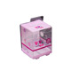 Custom Small Folding Transparent Clear PVC PET Plastic Gift Packaging Box baby gift boxes empty