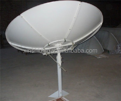 hebei renqiu good quality C band satellite dish 8ft (240cm) with lnb