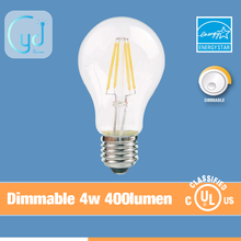 yidi 360 degree A60 A19 decorative led filament bulb factory price vintage style lamp