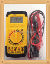 Instruction mamual multimeter with 9V battery and Test probe