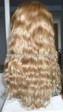 Top quality 16 inch lace front tina turner human hair wig