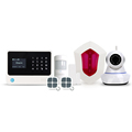 Intelligent alarm system home security wireless GSM/3G WIFI GPRS SMS alarm system with Contact ID SIA