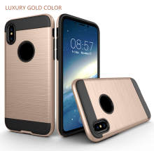 Free Sample Phone Case For iPhone X Case Cover , Hot Selling Hybrid Shockproof TPU PC Combo Case for iPhone X