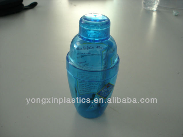 250ml plastic shaker bottle ,plastic shaker containers