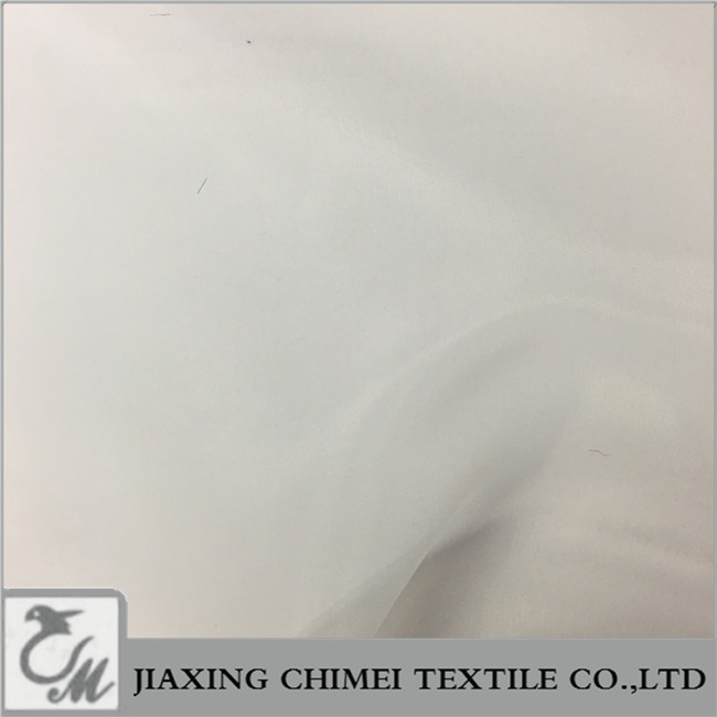 super smooth cream white organza fabric for wedding dress