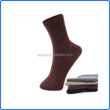 Autumn Plain Pure Color Relaxation Sweat-Absorbent Bamboo Fiber Men Stockings