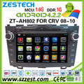 ZESTECH Direct factory 8 inch pure android car dvd player for Honda CRV