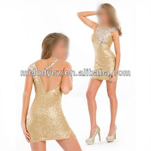 Top sexy sequin beading fashion night party pictures semi formal dresses