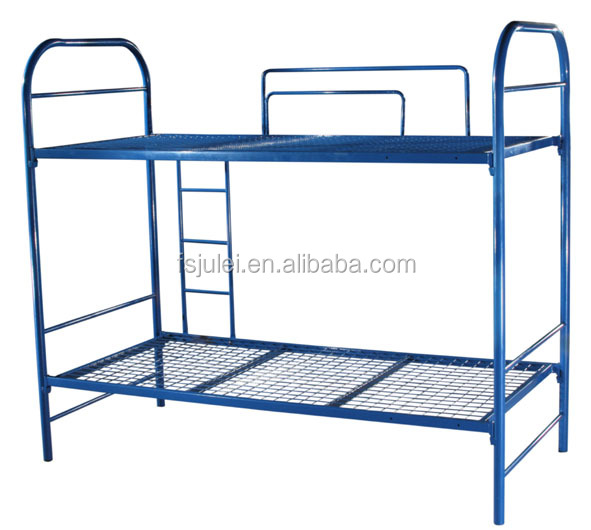 Single Layer Dormitory Metal Bed