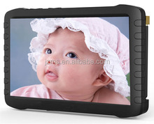Wireless Reciever 2.4Ghz Support TF Card High definition in Baby Security 7 inch HDMI LCD Video baby monitor