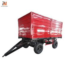 tractor mounted hydraulic farm tipping trailer