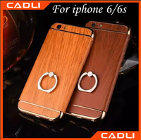 2016 New Arrival wood phone case cell key holder phone case for iphone6 6s