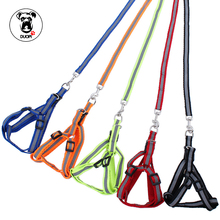 Duopi Brand Relflective Dog Chains Fashion dog harness Pet Dog Chest Strap Pet supplies Beautiful Accessories 5 colors