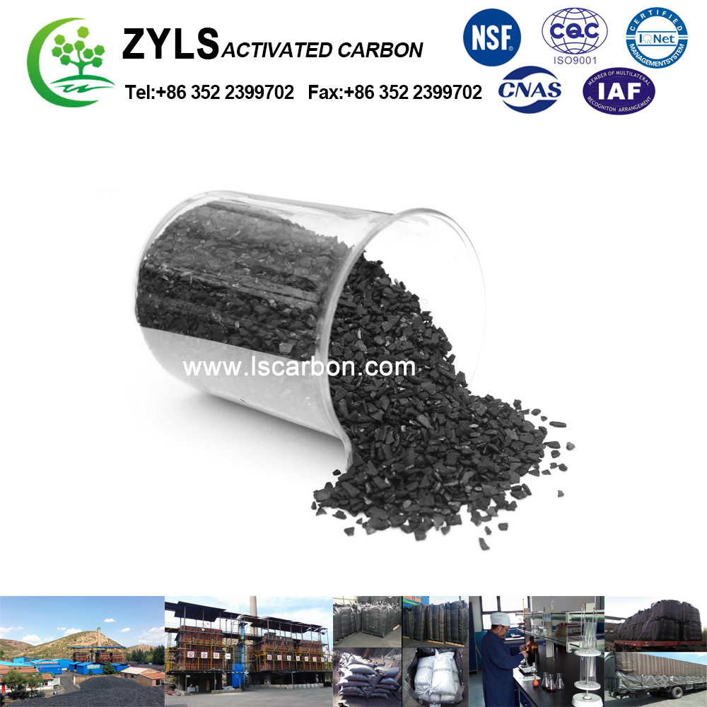 manufacture direct supply granular activated carbon price per ton