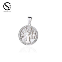 100 925 Sterling Silver Tree Of
