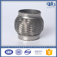 auto parts wholesale vibration reduction corrugated pipe export vibration corrugated pipe used car muffler