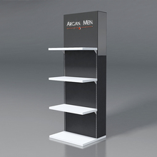 Hot selling fashion exhibition trade show booth pop wood display stand for cosmetic