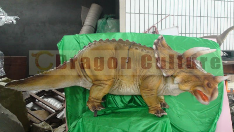 small inflatable dinosaur model