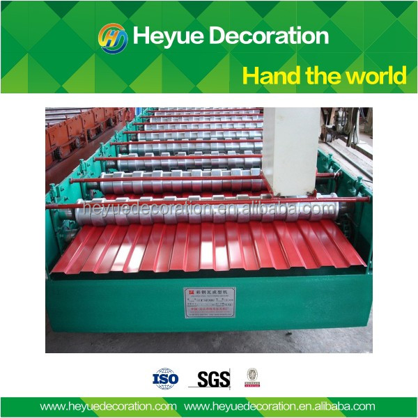 Hot sale red color Construction Material roof building material price