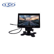 7 inch TFT LCD stand alone lcd tft car video mini monitor