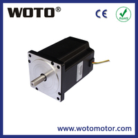 Hybrid nema 34 stepper motor 4.6N.m for wood cnc router