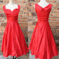 China supplier 2014 new design 1950's rockabilly fashion dress celebrity party evening dress