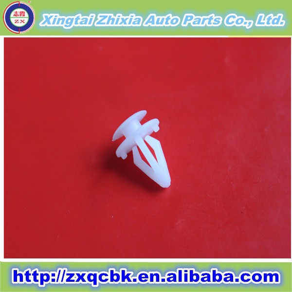 ZHIXIA Factory supply Car parts plastic clip/stainless black bolts and nuts