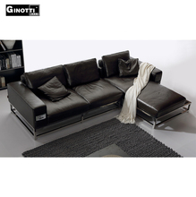 Germany furniture living room 3 2 1 seat leather sofa set with high price