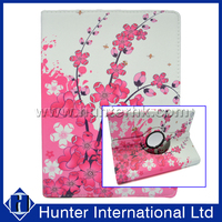 Pink Blossom Rotating Tablet Case For iPad Air 2