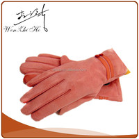 Free Logo Print Sex Leather Gloves For Women
