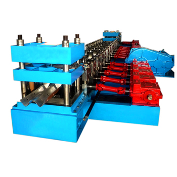 XN-310 China manufacturers W shape two waves highway guardrail roll forming machine for sale
