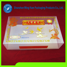 food grade excellent quality plastic rectangular box with a lid for nest bird china supplier