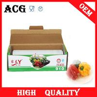 Fruits and vegetables pe stretch film/pallet wrap film/packaging film 2014 for middle east